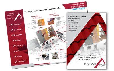 Plaquette commerciale Protech Toit