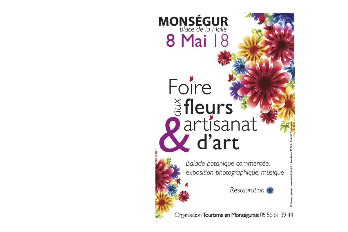 Foire aux fleurs Monségur