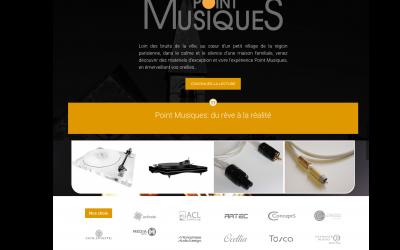 Site internet Pointmusiques.fr