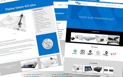 Site Avance Audio