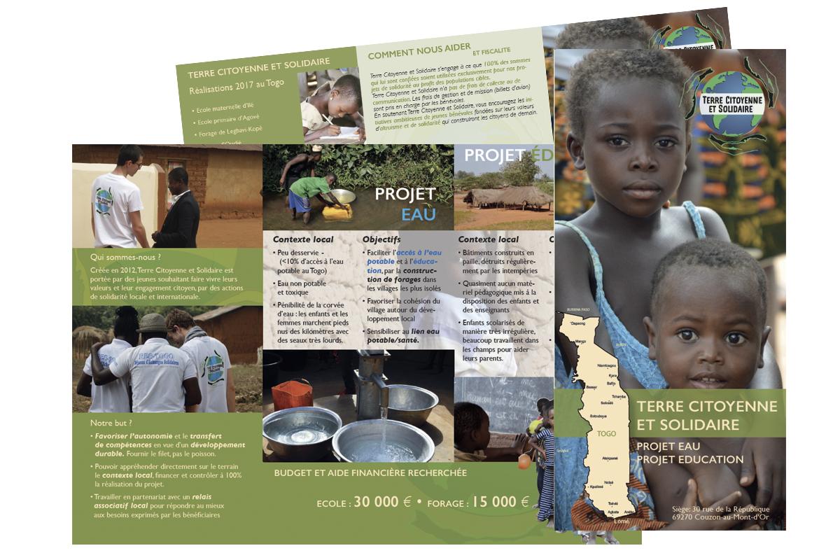 Leaflet Terre Citoyenne et Solidaire